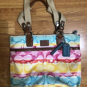 Coach Bag - Colourful
